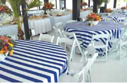 entertain your wedding guests on board this very stable catamaran in the sunny climes of Cyprus