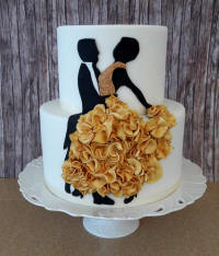 Wedding cakes and cake art from Cyprus - example 11