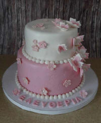 Wedding cakes and cake art from Cyprus - example 1