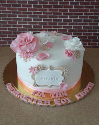 Wedding cakes and cake art from Cyprus - example 2