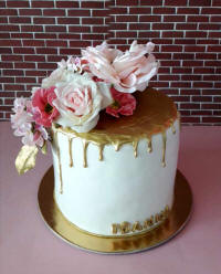 Wedding cakes and cake art from Cyprus - example 3