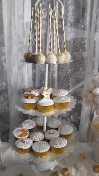 Wedding cakes and cake art from Cyprus - example 4