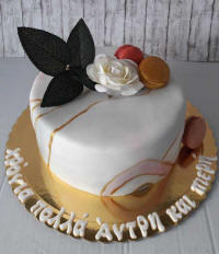 Wedding cakes and cake art from Cyprus - example 6