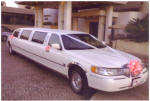 This lovely stretch Limousine is also available to get you to the church on time and in style!