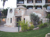 Pissouri boasts the Columbia Beach Resort hotel, which in turn boasts it's own chapel